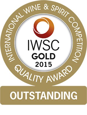 International Wine & Spirits Competition - Gold Outstanding Award 2015