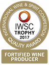 Internation Wine & Spirit Challenge - Trophy Award 2015 - Sherry Producer