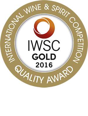 International Wine & Spirit Competition - Gold Award 2016