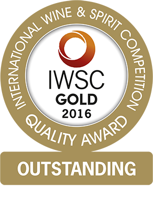 International Wine & Spirit Competition - Gold Outstanding Award 2016